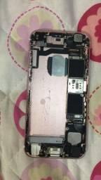 Vendo iPhone 6s rose pra retirada de peça