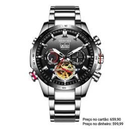 Relógio Masculino Automático Importado Senors