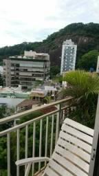 Leblon - Apt 3 quartos (1 suíte) com varanda e vista mar