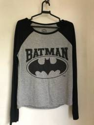 Camiseta Batman manga longa