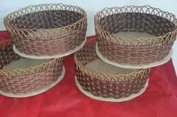 Vendo e fabrico cestas