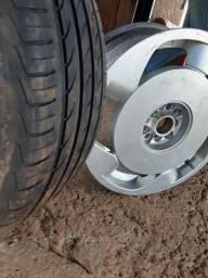 Rodas orbital gomão aro 18 4 pneus novos
