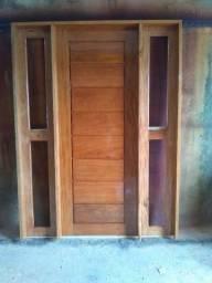 Portal de madeira