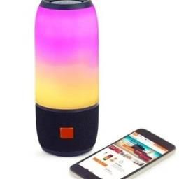 Caixinha De Som Bluetooth com Luz 360
