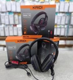 Headset Gamer USB Kaidi Original ENTREGA GRATIS
