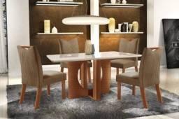 Mesa de Jantar Laka 4 cadeiras - Pronta Entrega!!!!