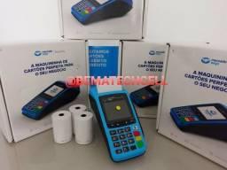 Maquineta POINT PRO (LACRADA) mercadopago, Wi-Fi e Chip 4G