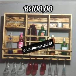 Bar de pallet rústico R$100,00