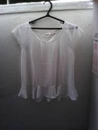 Título do anúncio: Blusa Branca Feminina P