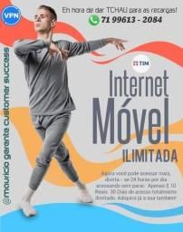 Wifi Móvel Ilimitado no seu Celular.