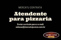 Atendente Feminino para Pizzaria
