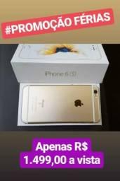 IPhone 6S Dourado/Rose + Nota fiscal