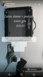 Caixa gt50 staner + pedaleira zoom g1x