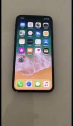 Iphone X 256Gb Preto Sem uso com nota fiscal