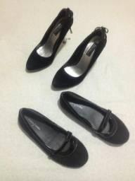 Sapatos Importados de Luxo Números 35 e 36 Novos e Nunca Usados