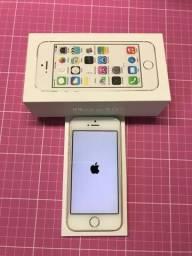 IPhone 5S Apple com 16GB, Touch ID, Câmera 8MP, Prateado *ÓTIMO PREÇO!!!!