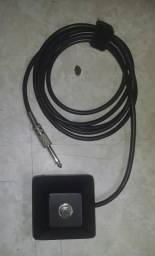 Pedal On/Off Footswich para amplificadores e cubos de guitarra ou baixo