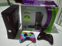 Xbox 360 destravado com jogos