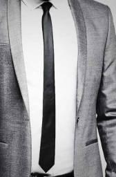 Kit gravatas slim