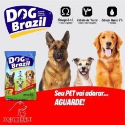 Ração dog brazil pacote 7 Kg