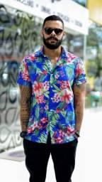Camisas florais, varejo e atacado. varejo 70,00 atacado 45,00 10 peças