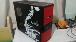 Gabinete Gamer Tt V3 Black Amd Edition Thermaltake