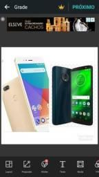 Xiaomi mi A1 Gold 4/64 e moto g6 plus