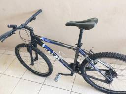 Bicicleta Caloi + capacete TSW