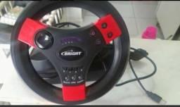 Vendo Playstation 2 destravado com jogos + volante