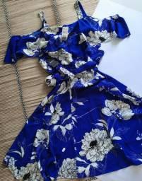Vestido Transpassado Florido ( Forever21 ) [Novo]