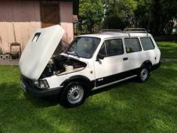 Fiat panorama turbo e suspensão a ar - 1986