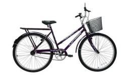 Bicicleta 26 Genova com/cesta Violeta