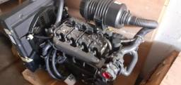 Motor estacionário turbo diesel 4 cilindros Lister Petter LPWT4 Alpha Series