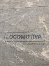 Lona Locomotiva e catracas