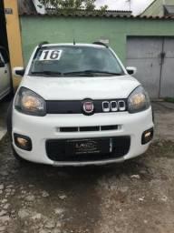 Fiat uno way 1.0 flex completa 2016 - 2016