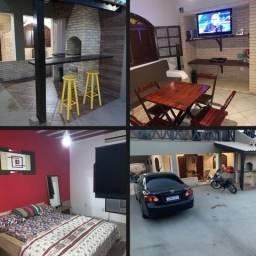 Alugo casa mobiliada c/ 02 Quartos c/ suite em Atafona (São João da Barra) - RJ