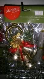 Sino de decoração para o natal