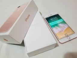 Iphone 7 32gb rose, semi novo em otimo estado