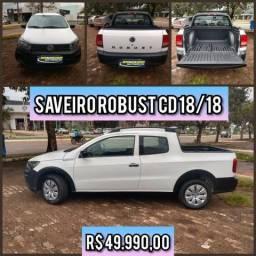 Saveiro Robust CD 18/18 completa R$ 49.990,00 - 2018