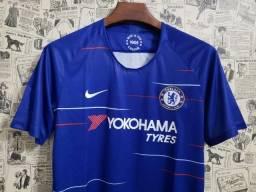 Camisa Chelsea 2018 s n° - Torcedor Azul tam. GG única disponível fd8101ebfe357