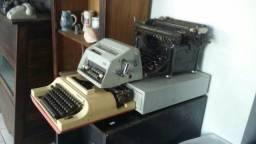 Máquina de escrever e de somar. .(leia)