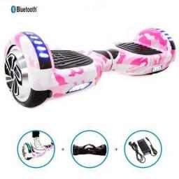 Hoverboard - 6 Leds + Bolsa + Bluetooth - Varias Cores
