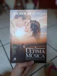 Livro A última música Nicholas Sparks
