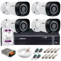 Câmeras de segurança Intelbrás