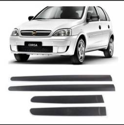 Jogo Friso Lateral Corsão Hatch Sedan Maxx