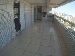Apartamento com 3 dormitórios para alugar, 151 m² por R$ 3.200/mês - Tupi - Praia Grande/S