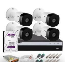 Câmeras de segurança e manutenção