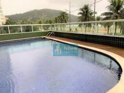 Apartamento com 3 dormitórios para alugar, 160 m² por R$ 4.300,00/mês - Canto do Forte - P