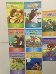 Kit 9 Livros infantis As grandes aventuras! Semi-novos Aceito cartão.