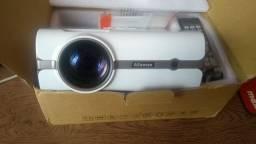 Mini Projetor Alfawise A11 LCD 2000 Lúmens semi-novo